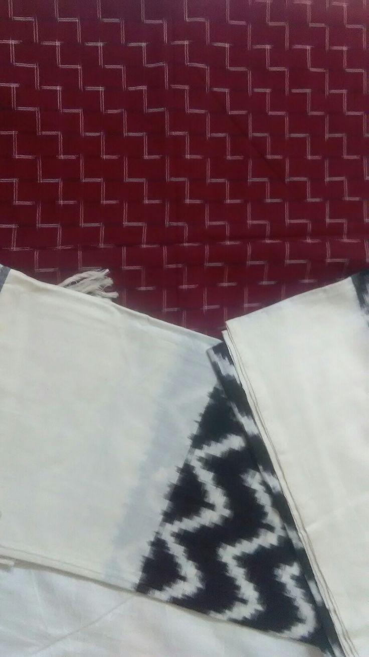Andhra Ikat ... Dupattas in cotton   from  Smitz