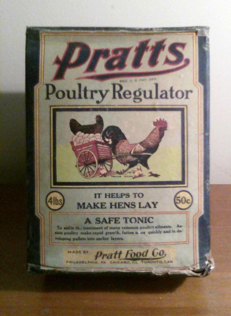 Pratts Poultry Regulator Carton