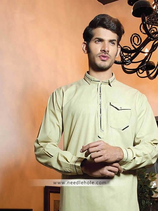 Mens shalwar kameez  one pocket shalwar kameez suits