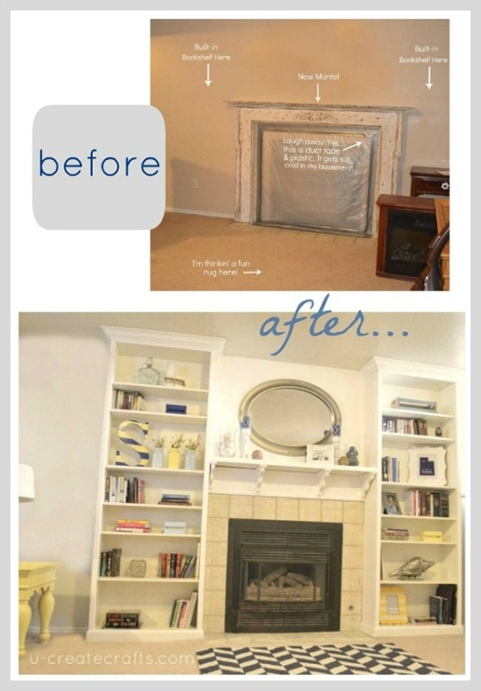 17 best images about fireplace on pinterest shelves - Mantel plastificado ikea ...
