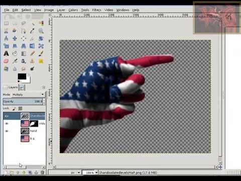 GIMP photo editing; beginner tutorial learn how to use a displacement map to make any photo a texture on another image; this technique can be used to make re...
