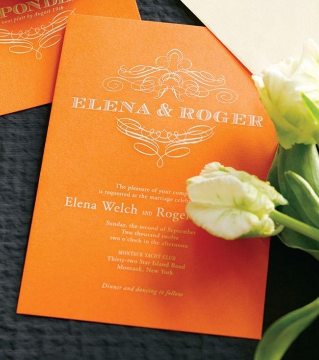 17 best Vera Wang Invitations images on Pinterest