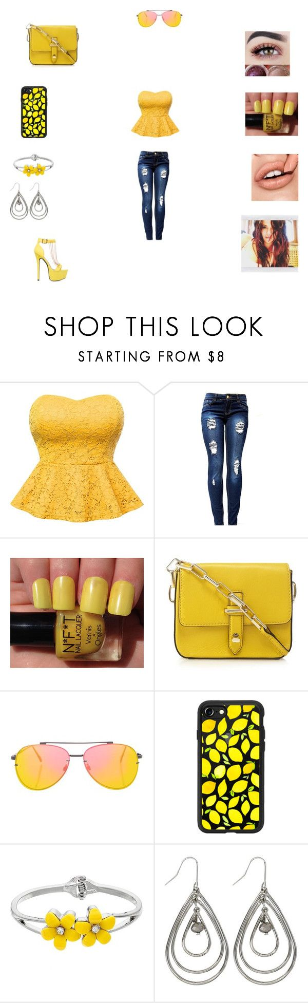 """""""Untitled #339"""" by trina-vanessa ❤ liked on Polyvore featuring ShoeDazzle, Topshop, Casetify and M&Co"""