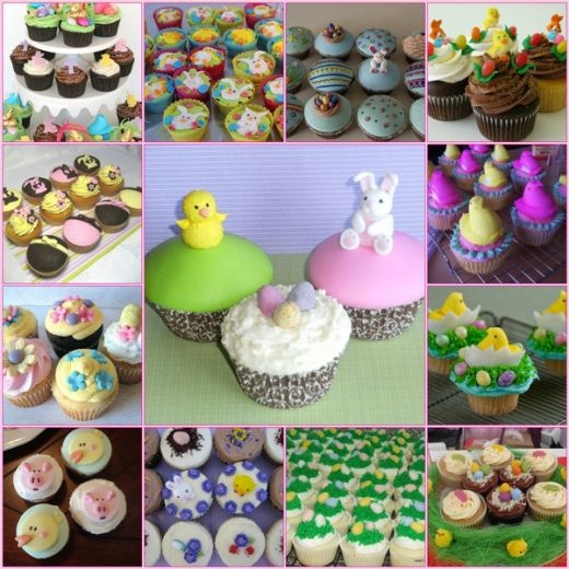 Easter cupcakes :)