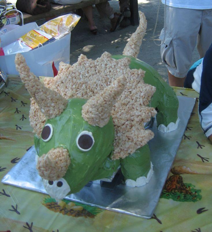 How To Make Dinosaur Shaped Cake