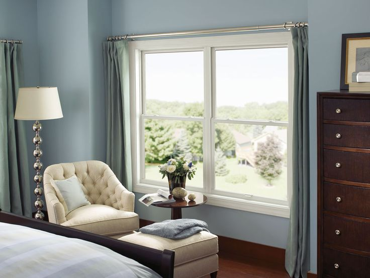 Marvin Integrity All Ultrex Double Hung Windows, 2 over 2.