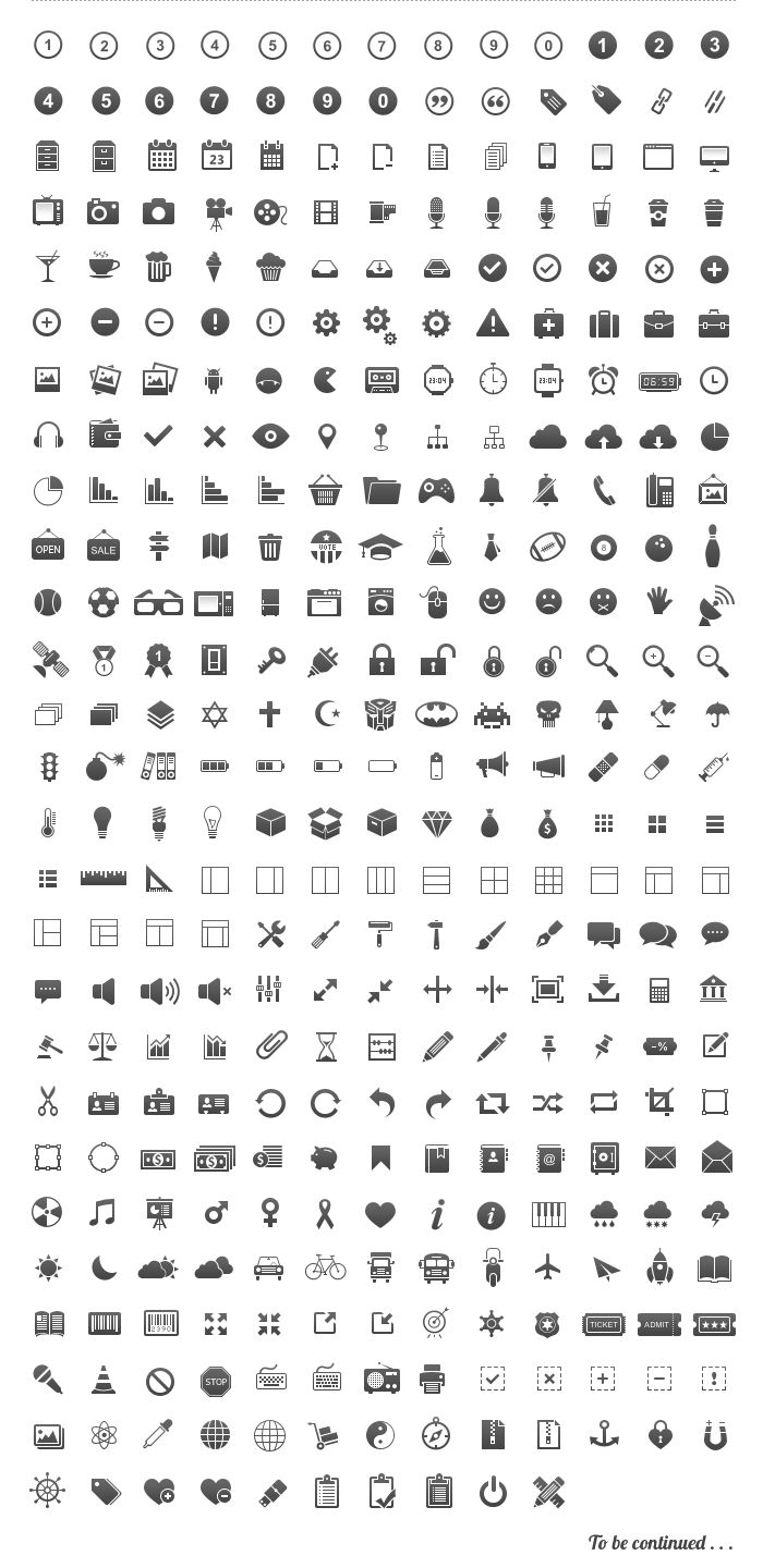 Free Icons Set designed by Brankic1979
