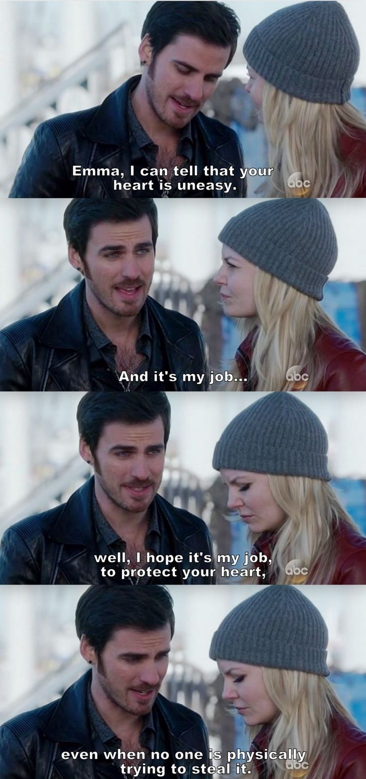 Once Upon a Time - Hook & Emma