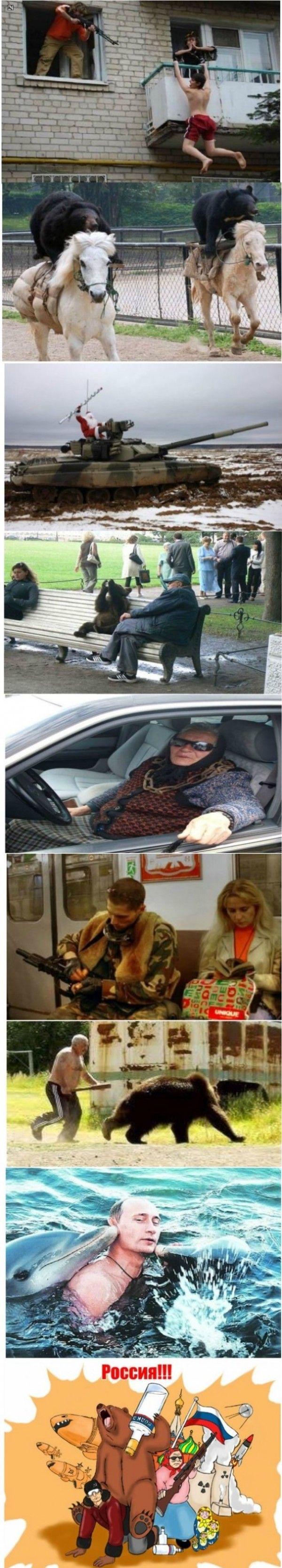 Russia.... Lol moments