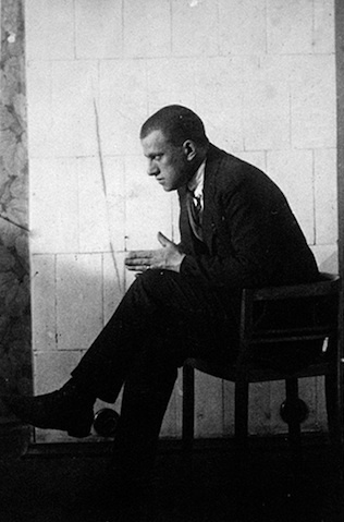 (by a. rodchenko) by the fireplace at the briks'