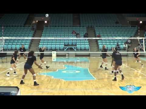 AVCA Video Tip of the Week: Ball Control Transition Drill - YouTube--would be a great spring drill, love the cross-court aspect of it!