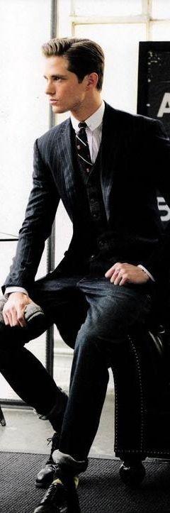 Sharp dressed Men's style / karen cox. Ɠҽɲʈɭҽɱaɲ *`'* ◦.¸☆