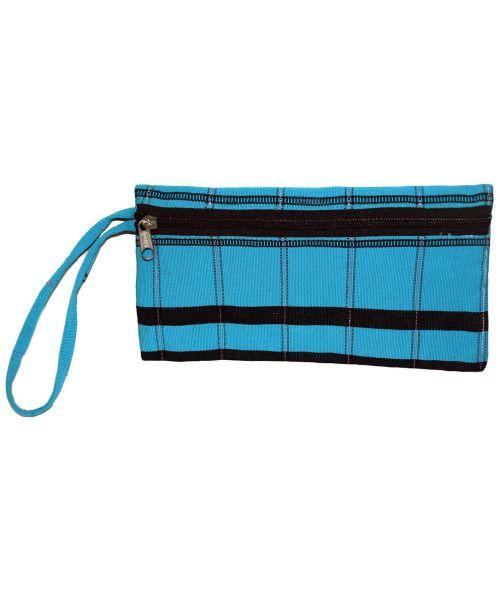 Barehand Ladies Zipper purse with Indigenous Rengma Naga motif