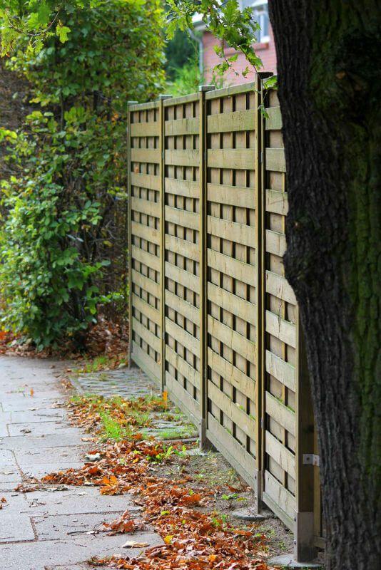 Best 25 Shadow Box Fence Ideas On Pinterest Wood Fences