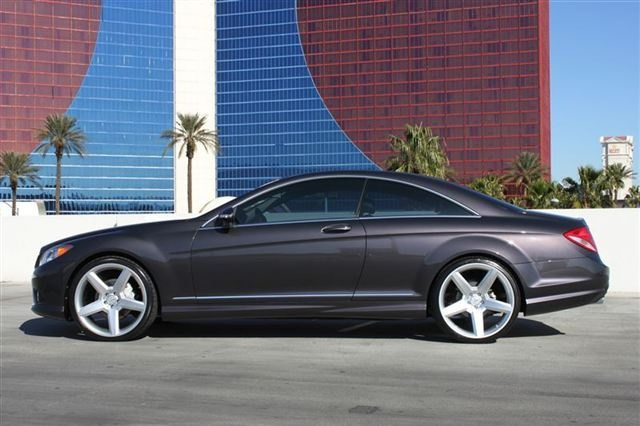 2008 Mercedes Benz Cl550 Amg Sport Sitting On 22 Quot Wheels