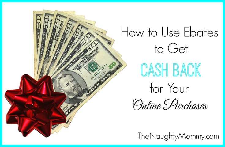 If you're not using ebates to get cash back for all your online holiday shopping, you are missing out! It's SO simple and easy to do, plus the cash back really adds up! Get started today. You won't regret it!