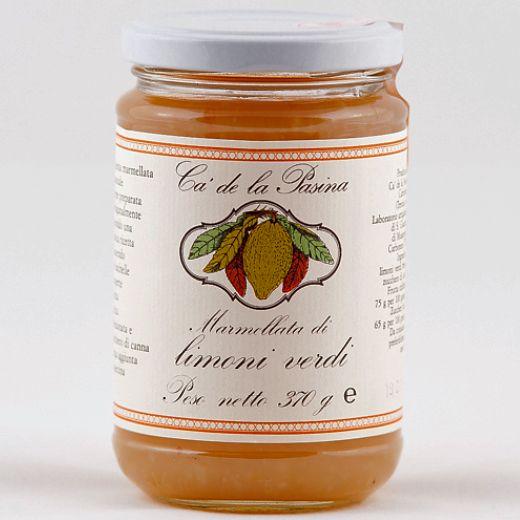 Marmellata di limoni verdi. Scopri e prova tutte le altre marmellate su: www.demarca.it