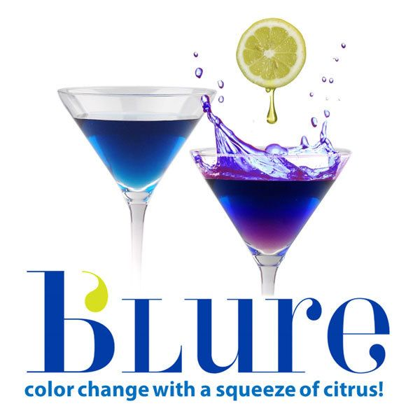 b'Lure Flower Extract (changes color with a lemon squeeze!) 3.4 fl oz - MolecularRecipes.com Store