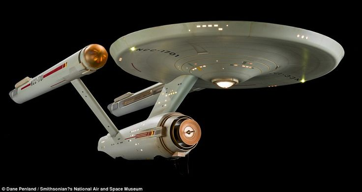 The Starship Enterprise has travelled back in time to its glory days – the iconic Star Tre...