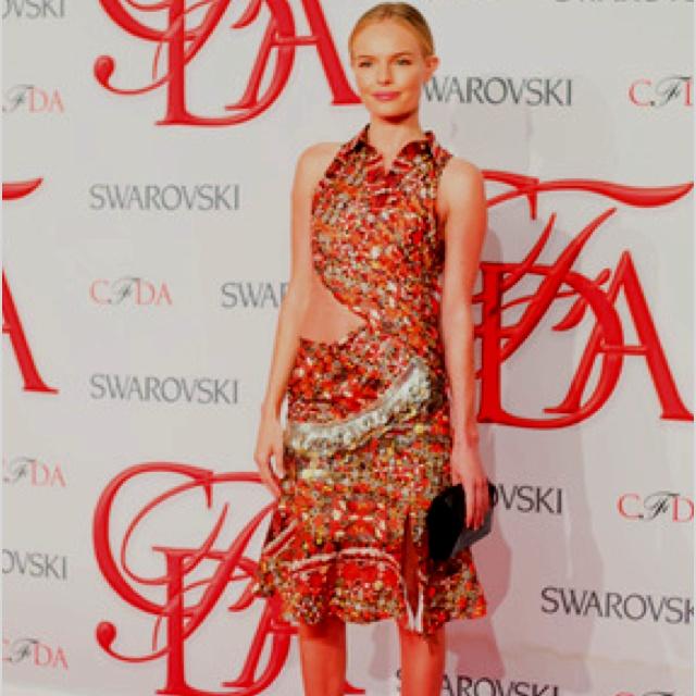 Kate Bosworth at CDFA ... Kate Bosworth