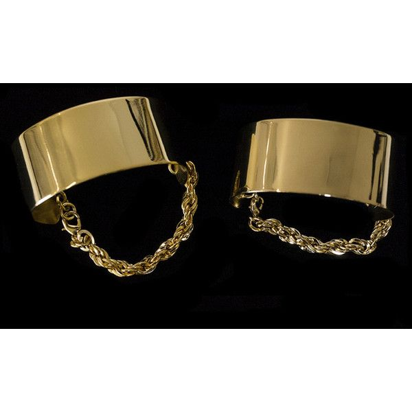 Ankle Cuffs ❤ liked on Polyvore featuring jewelry, bracelets, gold jewelry, gold cuff bangle, 24k jewelry, 24 karat gold jewelry and gold jewellery