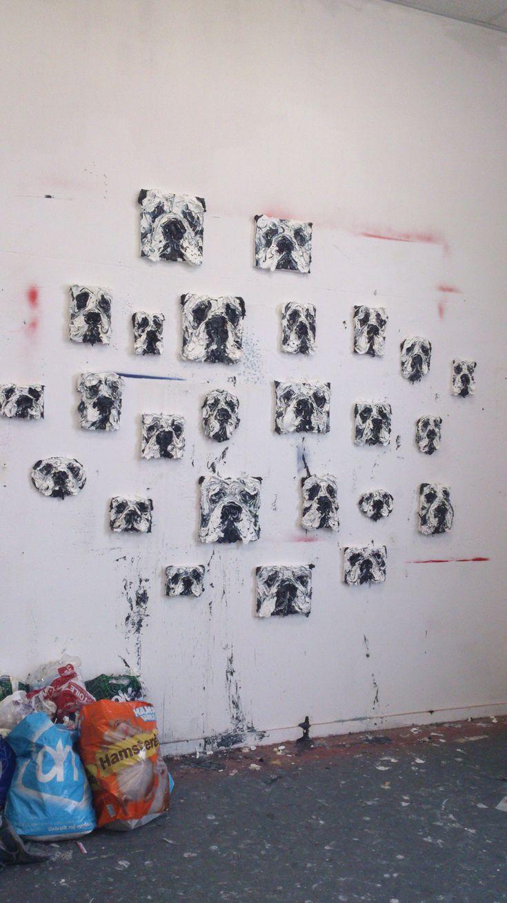 Thick Heads by Simon Schrikker - Galerie Majke Hüsstege.
