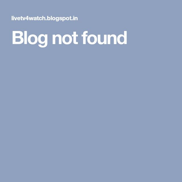Blog not found