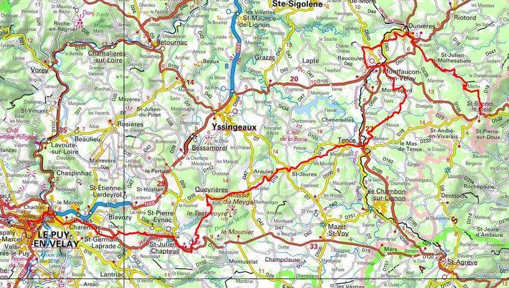 GR430 Randonnée de St Bonnet-le-Froid à Le Puy-en-Velay (Haute-Loire)