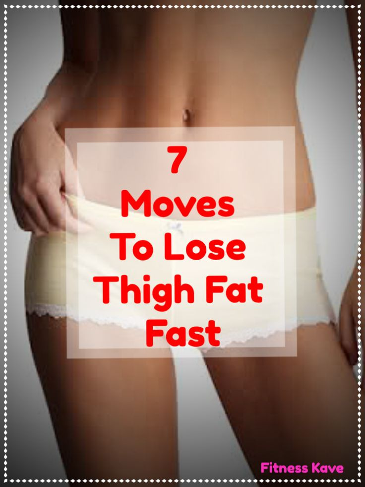 how to lose weight in thighs at home