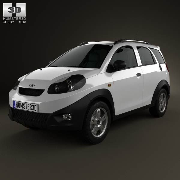 Chery IndiS (S18D) 2012 3d model from humster3d.com. Price: $75