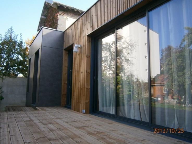 8 best architecture extension en bois m2 et compagnie pierre labourdette wood house. Black Bedroom Furniture Sets. Home Design Ideas
