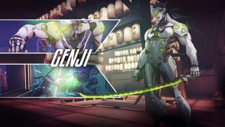 Download Genji Overwatch Wallpaper by Pt Desu 2560x1440