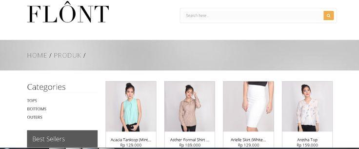 Baju-baju yg kamu beli online gak sesuai bayangan? Temukan berbagai model fashion terbaik di flontclothing.com