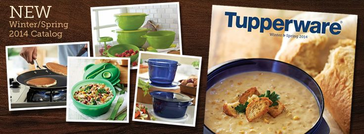 Check out the NEW Winter/Spring 2014 Tupperware Catalog! www,my2.tupperware.com/samanthabeauregard