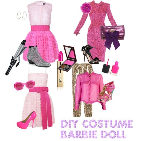 Best 25 barbie halloween costume ideas on pinterest barbie barbie doll costume diy polyvore solutioingenieria Choice Image