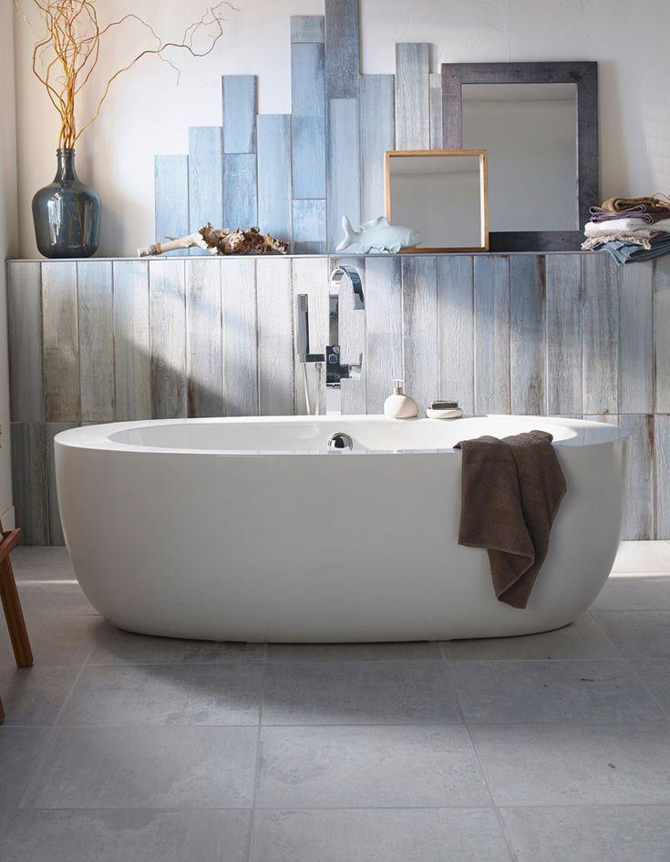 Baignoire îlot ovale  - Zoom sur les plus belles baignoires design - Elle Décoration