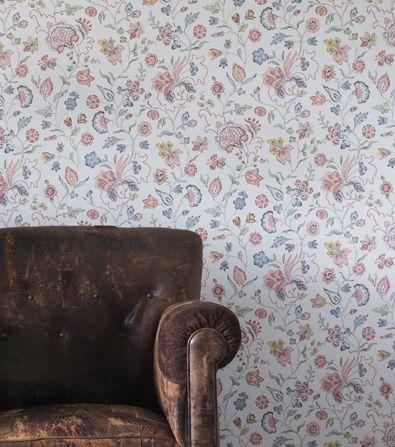 Dagmar - Wallpaper - Sandberg Tyg & Tapet