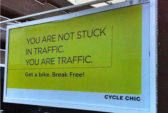 Good point. We should all bike/walk/take public transport more when possible!