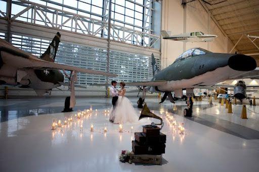 aviation wedding