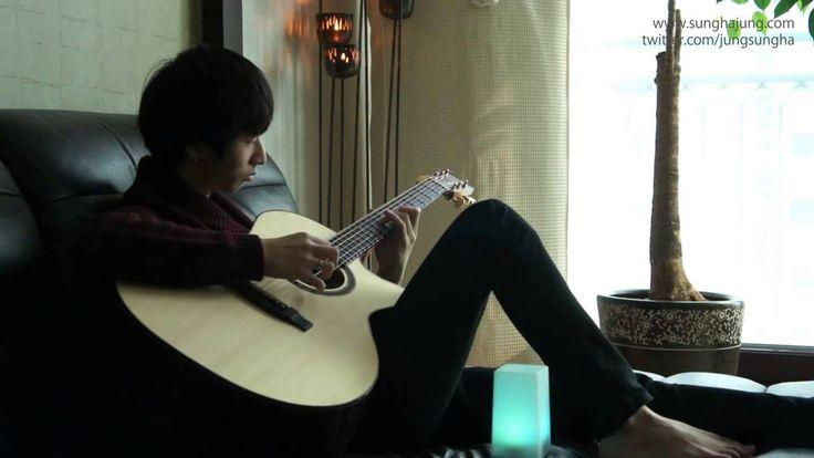 A rare and beautiful talent. (Original) Gravity - Sungha Jung (Bariton Guitar)