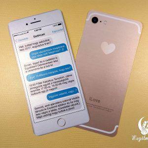 Phone wedding invitation #esküvői #meghívó #nyomtatott #esküvőimeghívó #egyedi #telefon #sms #wedding #weddinginvitation  #ilove #love #phone #phoneinvitation