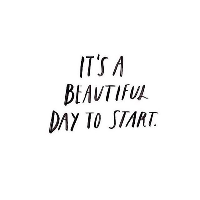 Start today. Just do one thing to start.