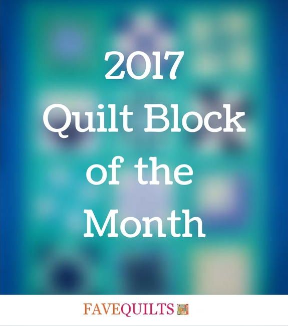 FaveQuilts is excited to announce that we're kicking off 2017 with brand new Block of the Month videos! Straight from our video studio, we'll be releasing a new quilt block video each month from guest blogger Carolina Moore.