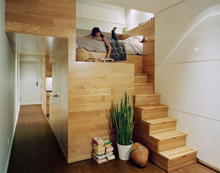 Die besten 25+ erhöhte Betten Schlafzimmer Ideen auf Pinterest