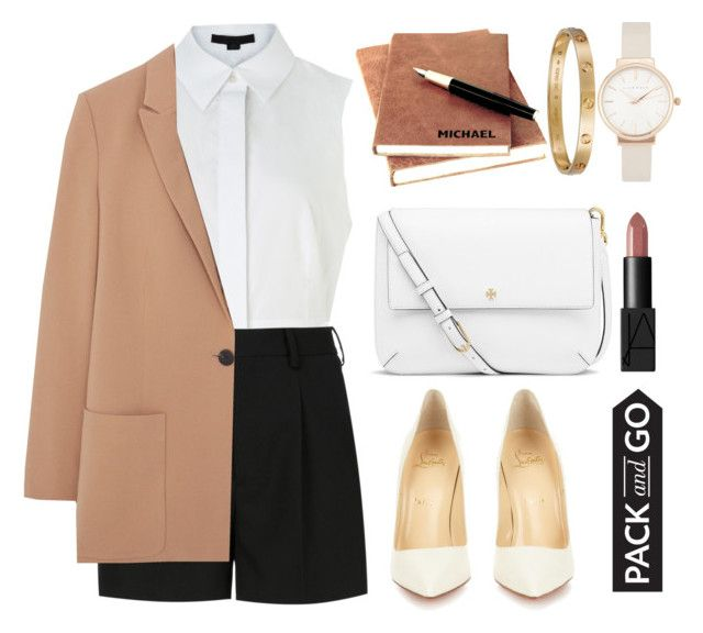 """""""Pack and Go: Milan"""" by forevagorgeous ❤ liked on Polyvore featuring Cartier, Alexander Wang, Yves Saint Laurent, MANGO, Olivia Burton, Christian Louboutin, Tory Burch, NARS Cosmetics, women's clothing and women"""