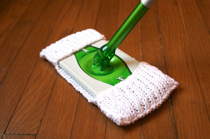 Knitted Swiffer Cloths