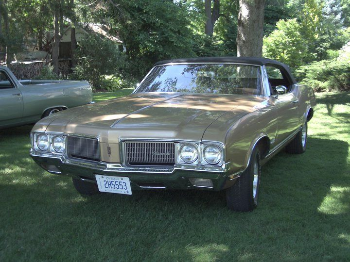 1970 Cutlass Supreme Convertible