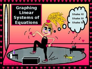 I am extremely happy to share my power point lesson on Solving Systems of Equations by Graphing! * Students will readily grasp this concept as it is quite similar to graphing only one line. * They do learn that to solve for a system one is looking to find a point, or