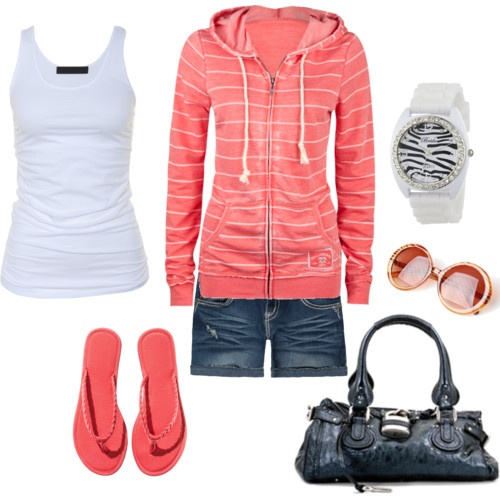 cute outfit, minus the sunglasses :)