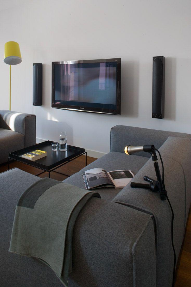 design by idstudio sofas from zanotta, lemon yellow lamp from swedish zero